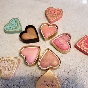 NWOB Too Faced Sweethearts Blush Bundle of 5